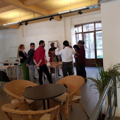 Ateliers avec les apprenants